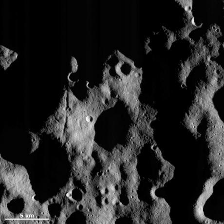 Vesta - Light and shadow