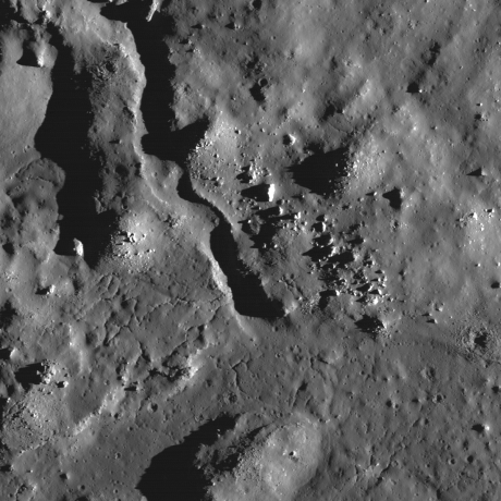 Lunar Reconnaissance Orbiter - Impact Melt Channel