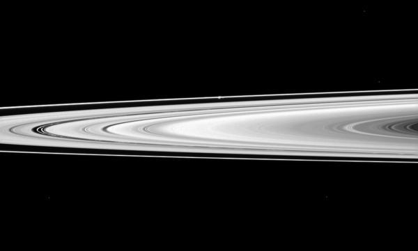 Cassini - Across to Prometheus