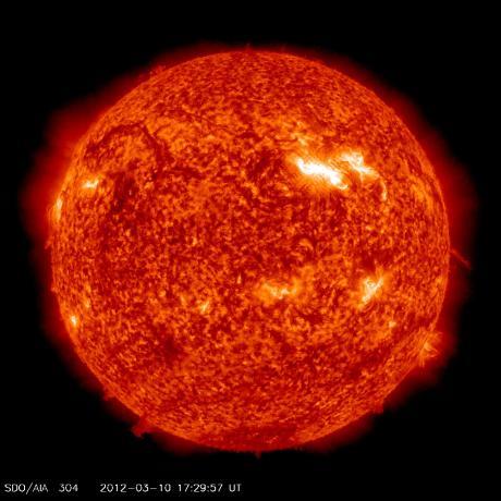 Sunspot 1429 - SDO image
