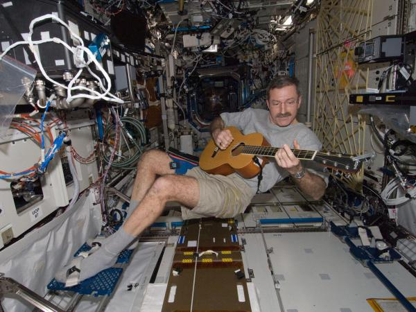 International Space Station - Astronaut Dan Burbank