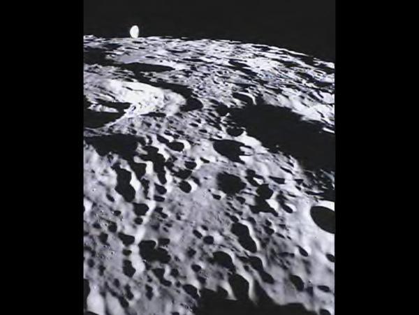GRAIL - MoonKAM Looks Homeward