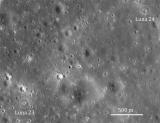 Lunar Reconnaissance Orbiter - Mare Crisium: Failure then Success (Luna 23 & 24)