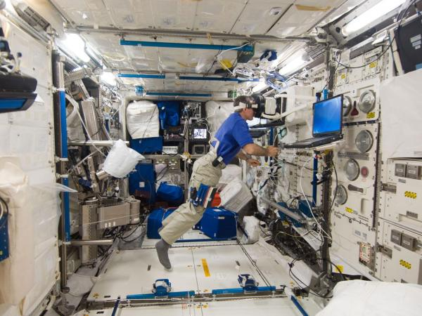 International Space Station - Performing PASSAGES Experiment