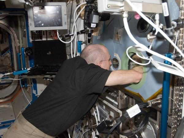 International Space Station - Don Pettit