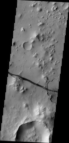 Mars Odyssey - Cerberus Fossae Fracture