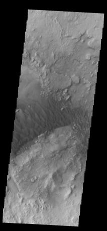 Mars Odyssey - Arabia Terra Dunes