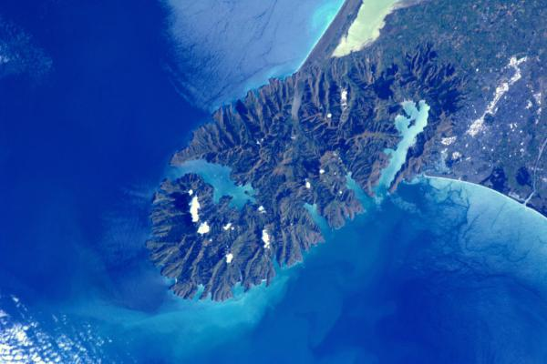 International Space Station - Christchurch, New Zealand