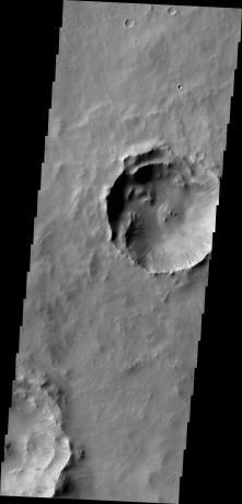 Mars Odyssey - Dark Slope Streaks