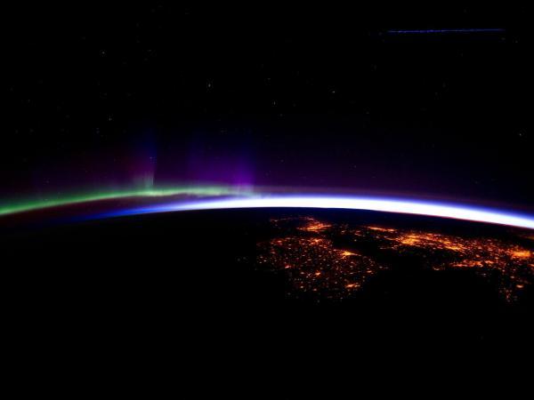 International Space Station - Ireland and the United Kingdom