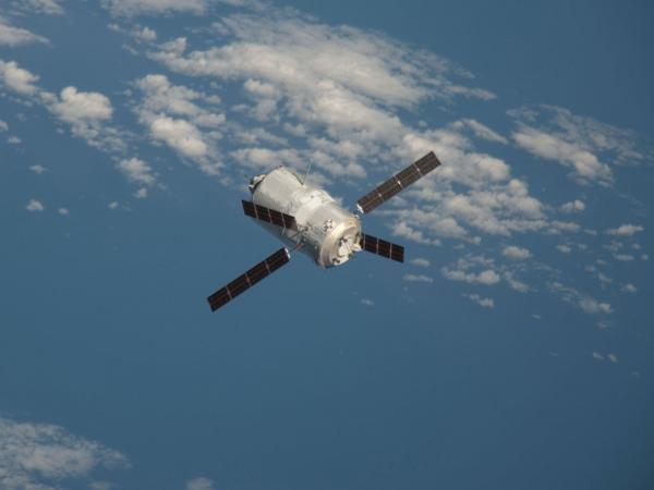 ATV-3 Approaches the Station