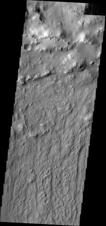 Mars Odyssey - Ejecta Texture