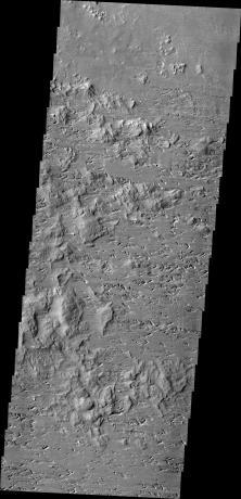 Mars Odyssey - Wind Erosion