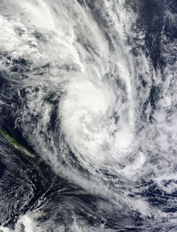 Tropical Cyclone Daphne (18P) over the North Fiji Basin, Pacific Ocean