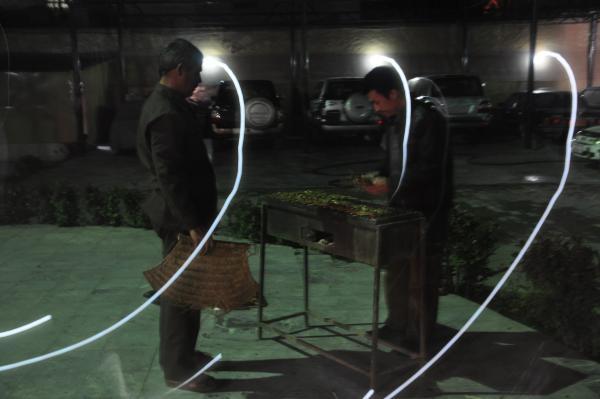 Strange light kind from Indonesian Embassy Kabul