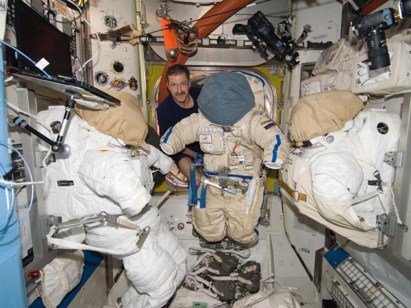 International Space Station - Commander Burbank