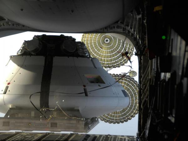 Orion Drop Test