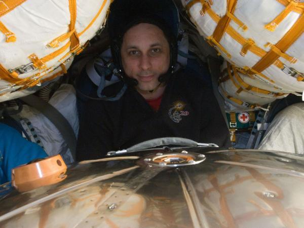 International Space Station - Cosmonaut Anton Shkaplerov