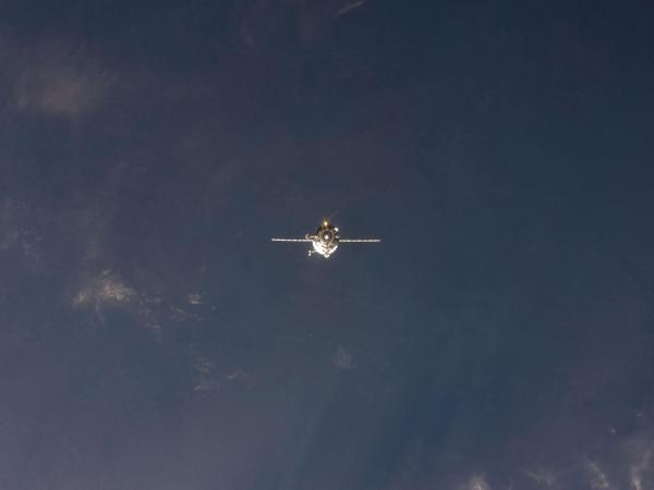 International Space Station - ISS Progress 47 Approach