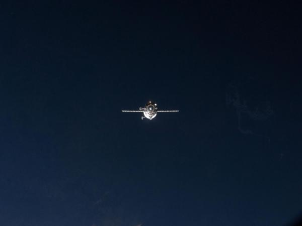 International Space Station - ISS Progress 47 Approach