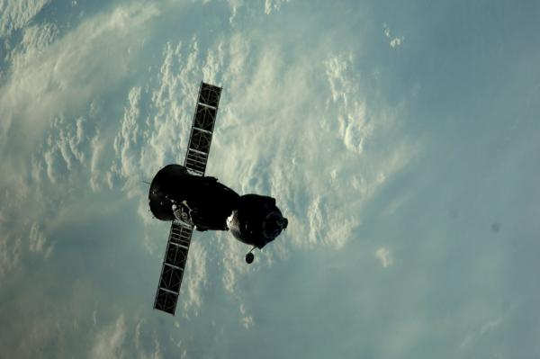 International Space Station - Soyuz TMA-22 (28S) undocked from the ISS