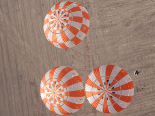 Testing the Orion Crew Vehicle's Parachutes