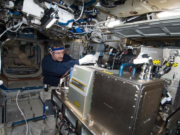 International Space Station - Expedition 30 Commander Dan Burbank