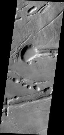Mars Odyssey - Ascraeus Mons