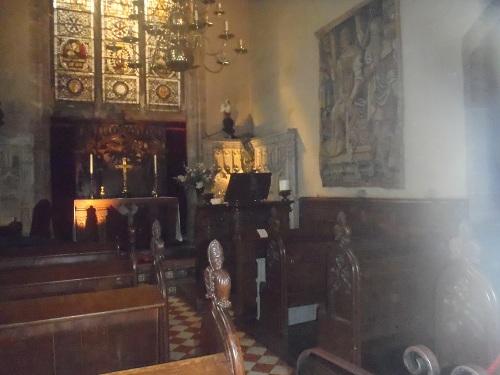 Chapel at Warwick Castle