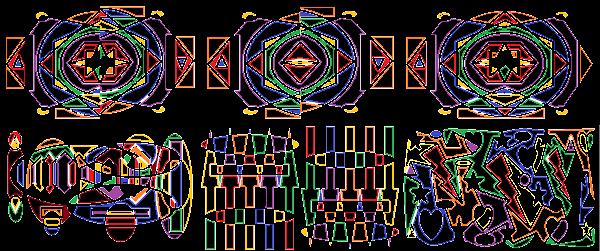 Sacred collage B