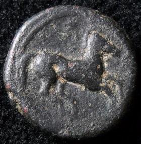 Zeugitana, Carthage Ae17mm, 400 350 B.C. Reverse