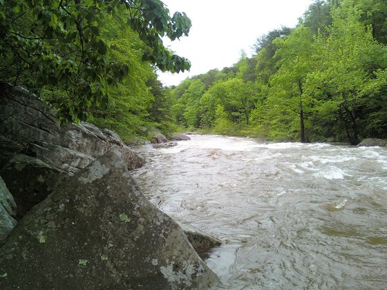 N Chickamauga Creek