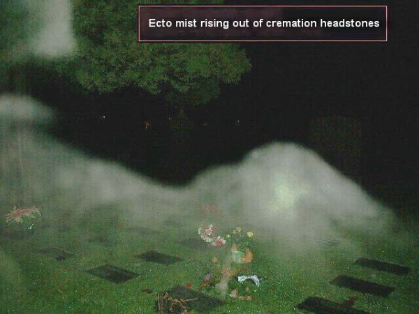 Ectomist Rising Up from Cremation Plots