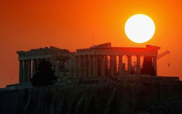 Sunset at the Acropolis, Athens