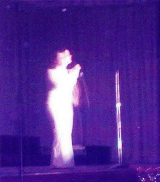 Short haired singer