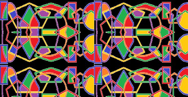 Sacred geometric dimension 333 B