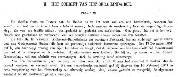 Friesche Oudheden OLB 1875 fragment