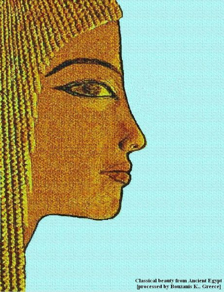 Classical beauty from Ancient Egypt