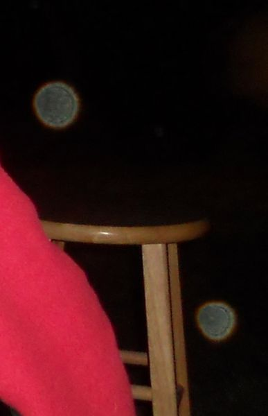 Two orbs of many that night