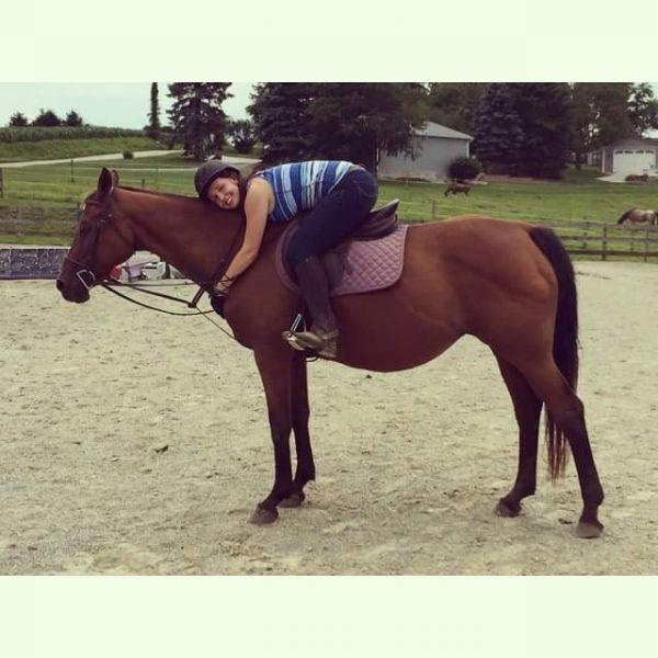 Kat, my horse:)
