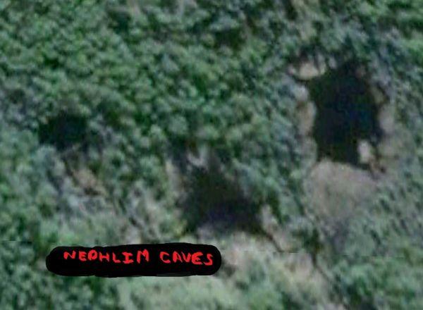 Nephlim caves