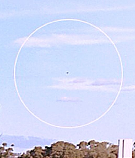 Possible UFO sighting in Gawler, South Australia