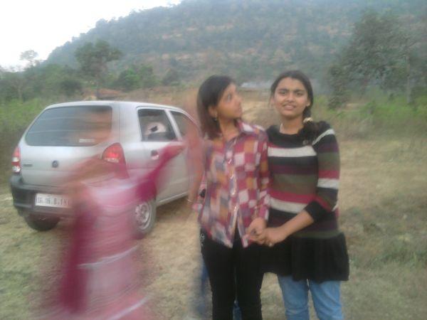 In picnic with my frndz