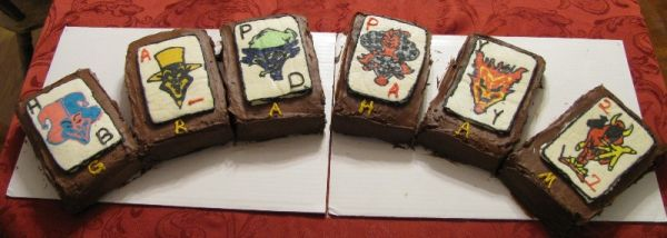 ICP Joker Card Birthday Cakes