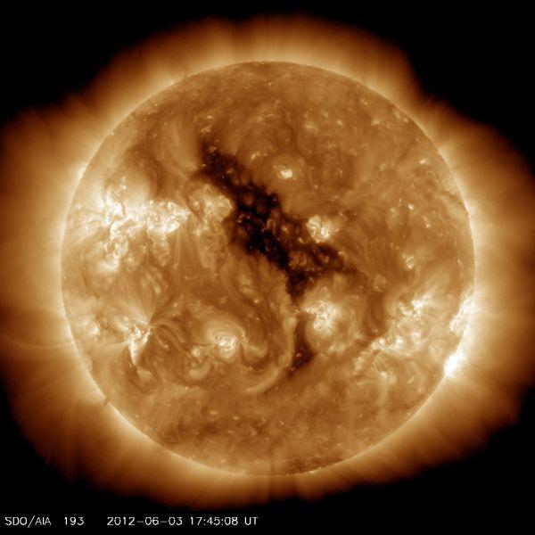 Solar Dynamic Observatory - Coronal Hole on the Sun