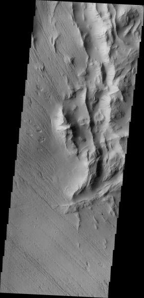 Mars Odyssey - Lycus Sulci