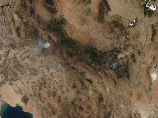 Fires in the Southwest