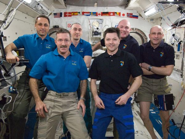 International Space Station - Expedition 30 and 31 Crews