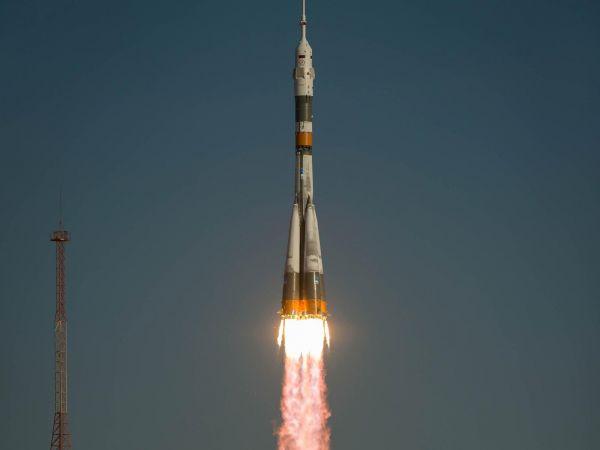 The Soyuz TMA-06M Spacecraft Launches