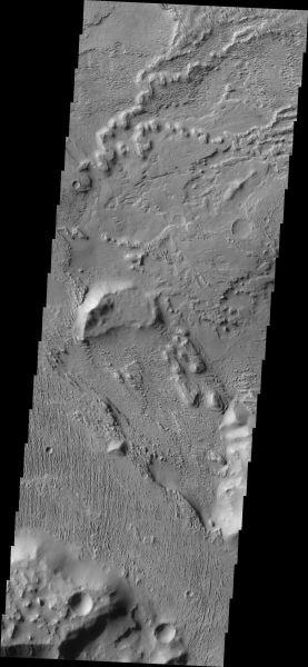 Mars Odyssey - Aeolis Planum